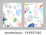 collection of trendy creative... | Shutterstock .eps vector #519557182