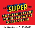 vector of stylized retro font... | Shutterstock .eps vector #519562492