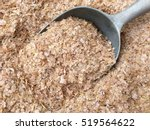 high angle view of wheat bran... | Shutterstock . vector #519564622