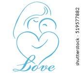 parenting logo template vector | Shutterstock .eps vector #519577882