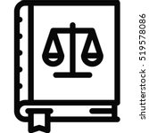 constitution icon | Shutterstock .eps vector #519578086
