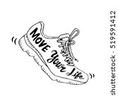 running shoe symbol   move your ...