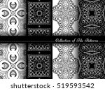 vector collection of black and... | Shutterstock .eps vector #519593542