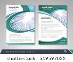 annual report brochure flyer... | Shutterstock .eps vector #519597022