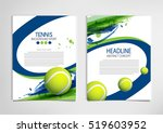 tennis ball championship or... | Shutterstock .eps vector #519603952