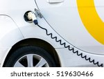 Electric Car Being Charged....