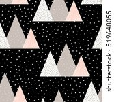 seamless repeat pattern with... | Shutterstock .eps vector #519648055