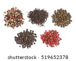 different peppers in front of... | Shutterstock . vector #519652378