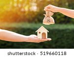 loans for real estate concept ... | Shutterstock . vector #519660118