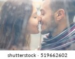portrait of young couple in... | Shutterstock . vector #519662602