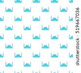 mosque pattern. cartoon... | Shutterstock .eps vector #519667036