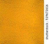 yellow orange  foil texture... | Shutterstock . vector #519672616