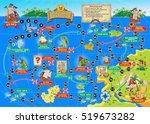 vector illustration of board... | Shutterstock .eps vector #519673282