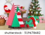 closeup up handmade christmas... | Shutterstock . vector #519678682