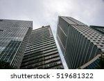 "Small photo of 17 november, 2016. Buildings of financial center of Rio de Janeiro near metro station ""Carioca"", Brazil"