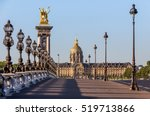 Alexandre Iii Bridge In Paris ...