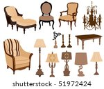 antique | Shutterstock .eps vector #51972424