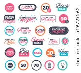 sale shopping stickers and... | Shutterstock .eps vector #519729562
