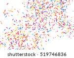 colorful explosion of confetti. ...   Shutterstock .eps vector #519746836