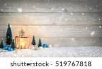 christmas background with... | Shutterstock . vector #519767818