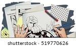 stock illustration. people in... | Shutterstock .eps vector #519770626