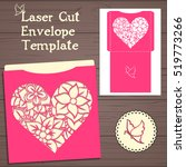 lasercut vector wedding... | Shutterstock .eps vector #519773266
