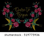 embroidery | Shutterstock .eps vector #519775936