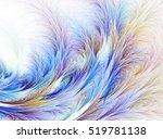 abstract fractal computer... | Shutterstock . vector #519781138