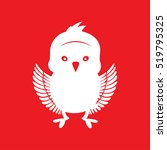 chick icon vector illustration | Shutterstock .eps vector #519795325