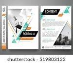 portfolio design template... | Shutterstock .eps vector #519803122