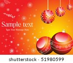 red and yellow color based... | Shutterstock .eps vector #51980599