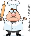 angry chef | Shutterstock . vector #51981319