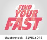 poster design concept with...   Shutterstock . vector #519816046