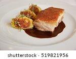 traditional peruvian meal... | Shutterstock . vector #519821956