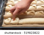 step by step preparation of... | Shutterstock . vector #519823822
