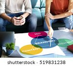 business branding marketing... | Shutterstock . vector #519831238