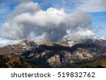 Autumn Alpine Landscape In The...