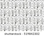 vector seamless pattern with... | Shutterstock .eps vector #519842302