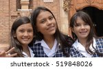 Preteen Catholic School Girls