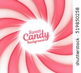 Sweet Candy Background With...