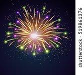 Firework Bursting Sparkle...