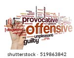 offensive word cloud | Shutterstock . vector #519863842