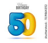 fifty birthday greeting card...