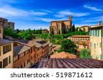 Aerial View Of Siena And...
