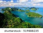 ang thong national marine park  ... | Shutterstock . vector #519888235