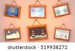 3d rendering cartoon christmas...   Shutterstock . vector #519938272