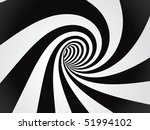 curved tunnel | Shutterstock .eps vector #51994102