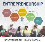 entrepreneurship strategy...   Shutterstock . vector #519946912