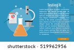 testing it conceptual banner | Shutterstock .eps vector #519962956