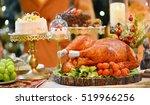 Roasted Turkey. Christmas...